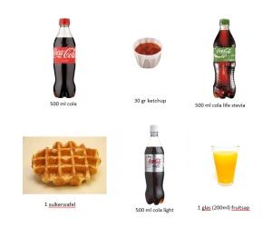 bord suiker voordracht