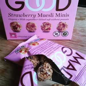 strawberry muesli minis